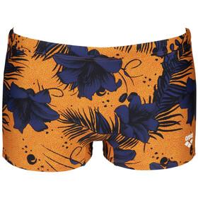 arena Fundamentals Allover Shorts Men, żółty/niebieski